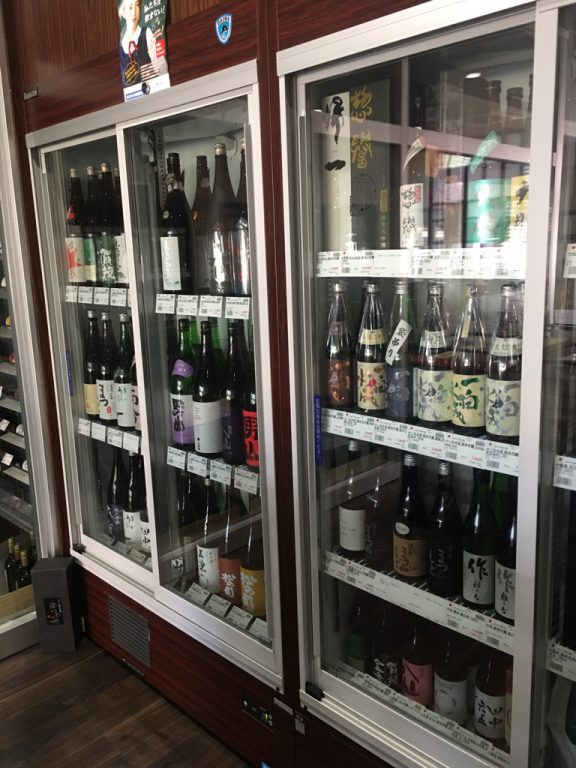 ショップの日本酒レイアウトを変更いたしました!